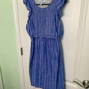 Blue Nursing Dress